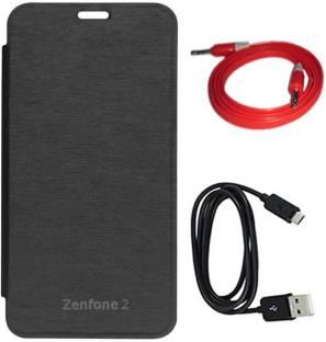 huge selection of 6d1d5 543cc DMG Smart Circle View Flip Case for Asus Zenfone 2 ZE551ML , Laser ...