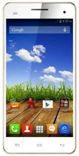 Micromax Canvas HD Plus A190 Dual Sim - White (White, 8 GB)