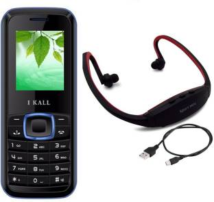 I Kall K19 with MP3/FM Player Neckband