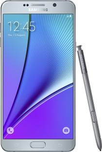 SAMSUNG Galaxy Note 5 (Dual Sim) (Silver Titanium, 32 GB)