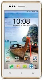 Intex Aqua 4.5E (White and Champange, 1 GB)