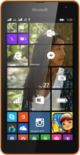 MICROSOFT Lumia 535 DS (Bright Orange, 8 GB)