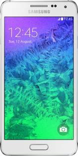 SAMSUNG Galaxy Alpha (Dazzling White, 32 GB)