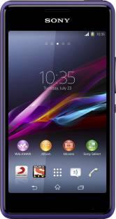 SONY Xperia E1 Dual (Purple, 4 GB)