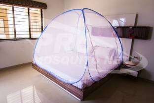 PRC Net Double Bed Blue Mosquito Net
