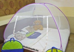 Classic Polyester Adults Net Double bed Mosquito Net & Classic Polyester Adults Net Double bed Mosquito Net Price in ...