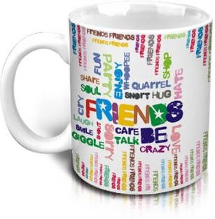 Hot Muggs Friend Emotions Ceramic Mug