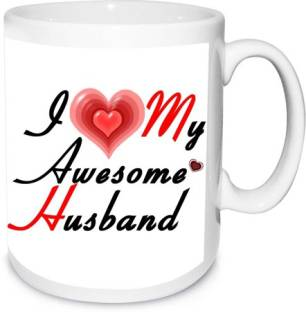 Love My Husband Mug Shoppers Bucket Ceramic Mug Price In India Buy