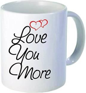 Coffee Love Quotes   Online World White Coffee Love Quote 16 Ceramic Mug Price In India