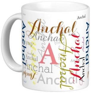 Exoctic Silver ANCHAL Ceramic Mug