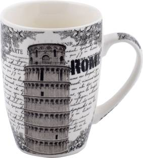 Chrome Rome Ceramic Mug