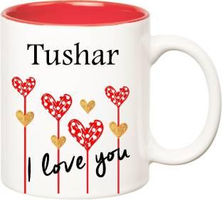 Posterchacha Tushar Personalised Custom Name Happy Birthday Gift Tea