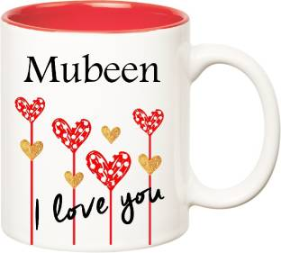 f42954c1ebe posterchacha Mubeen Personalised Custom Name Happy Birthday Gift Tea ...
