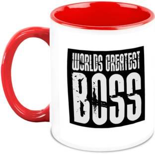 Everyday Gifts Worlds Best Boss Ceramic Mug Price In India Buy