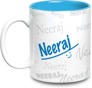 Hot Muggs Me Graffiti - Neeraj Ceramic Mug