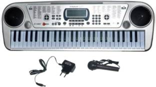V.T. 54071 54-Keys Electronic Keyboard with Microphone & Led Display Analog Portable Keyboard