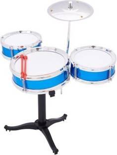 Reyansh Collection Mini Jazz Drum Set For Kids Multicolor Mini