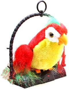 Talking Parrot Talk Back Parrot Repeats Imitates Your Voice Prank Funny Joke/_