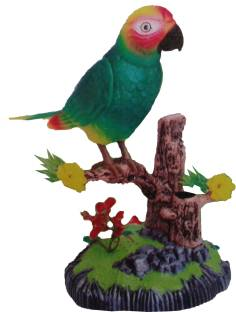 Electronic Pets Electronic Toys Colorful Pet Bird Parrot Toy Plastic Electric Sound Fly Wing Talking Lovebird Animals Battery Power Toys For Children Gift Street Price