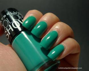 maybelline color show limited edition nail polish 955 turquoise