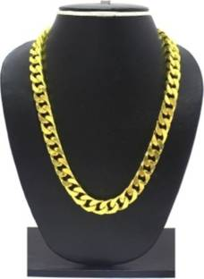 Gold chain for men buy gold chain for men online at best prices fashioncraft figaro brass chain mozeypictures Image collections