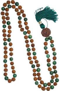 Indiatrendzs Mala Jade Stone Necklace