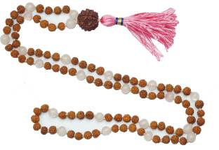 Indiatrendzs Mala Pearl Stone Necklace