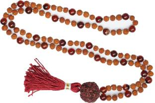 Indiatrendzs Mala Pearl Crystal Necklace