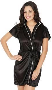 473ecbd073 Klamotten Women Robe - Buy Navy Blue Klamotten Women Robe Online at ...