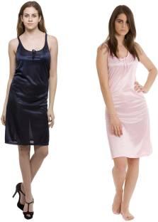 084bd73da5 Hot N Sweet Women s Nighty - Buy Light Purple Hot N Sweet Women s ...