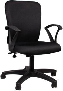 6a34b723c Nilkamal Venus Computer Fabric Office Arm Chair Price in India - Buy ...