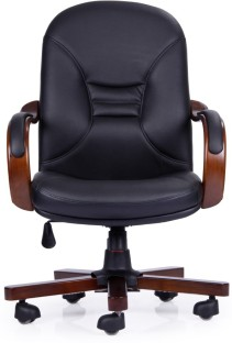 Durian August MB Leather Office Arm Chair