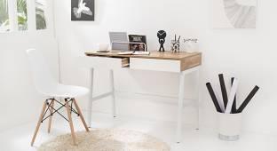 Urban Ladder Terry Engineered Wood Study Table