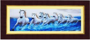 Jaf Horse Painting Digital Reprint 20 Inch X 14 Inch Painting Price