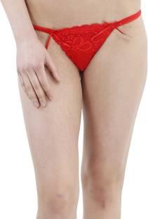 4d8a90bb9 Nimra Fashion Women s Thong Red Panty - Buy Red Nimra Fashion ...