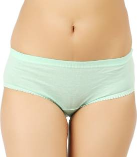 Vaishma Women's Brief Light Green Panty