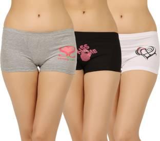 204dc2bb5 Fashion Guru Trading Women s Boy Short Green Panty - Buy Green ...