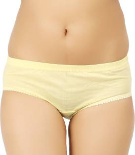 Vaishma Women's Brief Yellow Panty