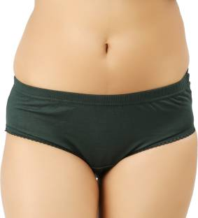 Vaishma Women's Brief Dark Green Panty