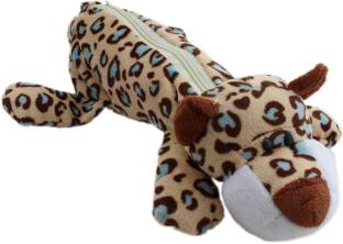 Tootpado Signature Animal Figure Art Plush Pencil Box