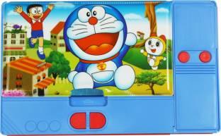 Dream Bag Doraemon Colourful Art Plastic Pencil Box
