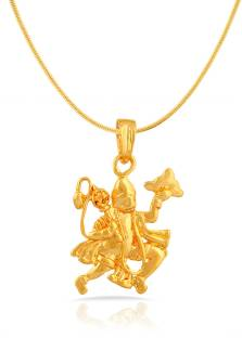 Mahi Yellow Gold Brass, Alloy Pendant