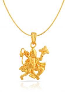 Mahi Yellow Gold Brass, Alloy Pendant