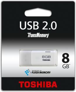 Toshiba Haya white 8gb pendrive