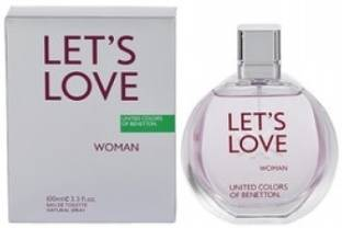 United Colors of Benetton LET'S LOVE EDT  -  100 ml