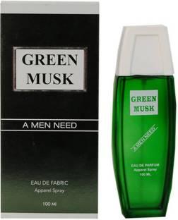 RAMCO Green Musk Fabric Apparel Spray Eau de Cologne  -  100 ml
