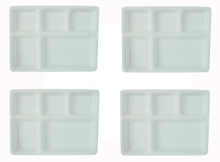 Delite Plate Set  sc 1 st  Flipkart & THW Three Sections Dosa Acrylic Thali Plate Set Price in India - Buy ...