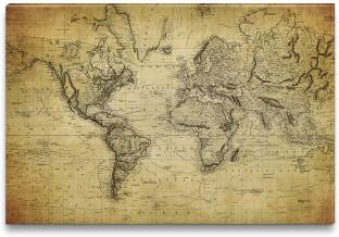 Amy the known world map 3d poster maps posters in india buy world map clash of civilizations canvas art gumiabroncs Image collections