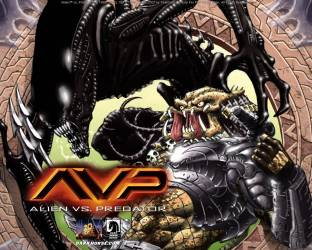 Movie AVP: Alien Vs  Predator Alien HD Wall Poster Paper