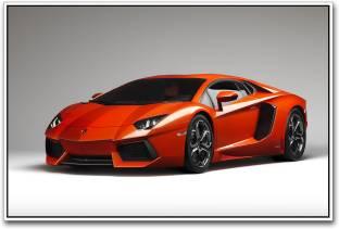 Lamborghini Sesto Elemento Black Photographic Paper Vehicles